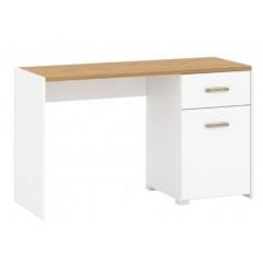 ADAM стіл письмовий 1d1s/130 [P2] білий матовий