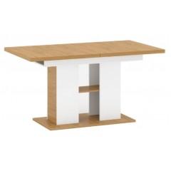 ADAM стіл розкладний 155/204 [S] білий матовий