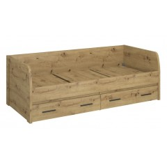 AYSON ліжко 2s/90 дуб artisan
