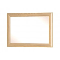 DALIA дзеркало дуб золотий / білий глянець