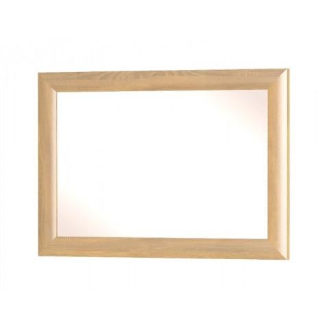 DALIA зеркало дуб золотой / белый глянец
