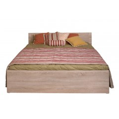GRESS ліжко 160 дуб sonoma