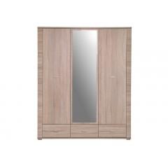 GRESS шафа з дзеркалом 3d3s дуб sonoma