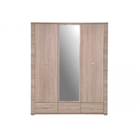 GRESS шкаф с зеркалом 3d3s дуб sonoma