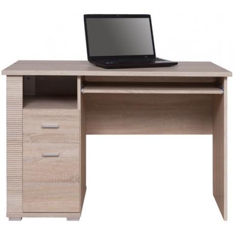 GRESS стіл письмовий 1d1s/120 дуб sonoma