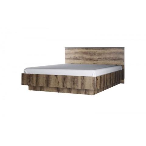 JAGGER ліжко 160 з підйомником дуб монастирський / чорний
