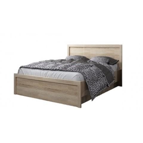 JAZZ кровать 140 с подъемником дуб sonoma