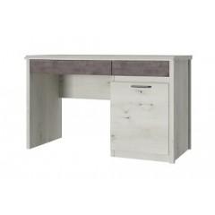 NONELL стіл письмовий 1d2s/120 вільха полярна / онікс