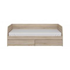 NORTON ліжко 2s/90 дуб sonoma
