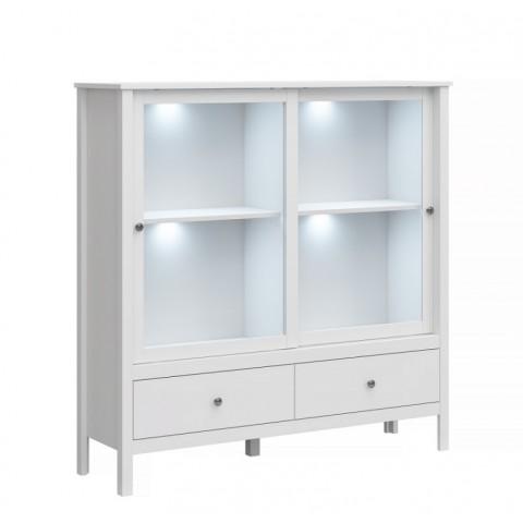 OLE витрина низкая 2w2s белый