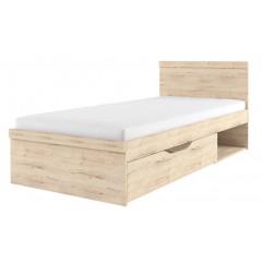 OSKAR ліжко 90 дуб san remo