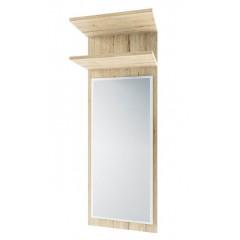 OSKAR панель з дзеркалом 45 дуб san remo