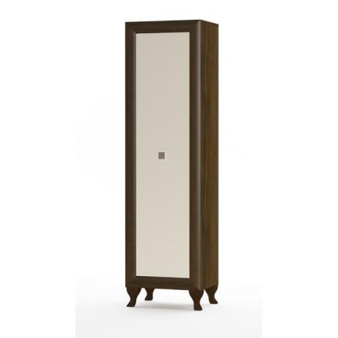 PARMA шкафчик 1d дуб sonoma шоколадный / беж глянец