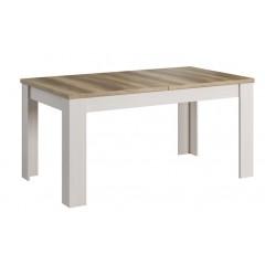PROVENCE стіл розкладний 160/200 krem / дуб canyon