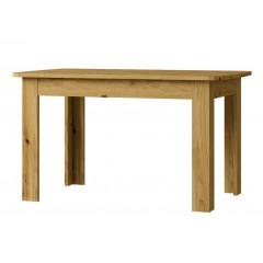 RICHE стіл розкладний 130/175 дуб ontario / білий глянець