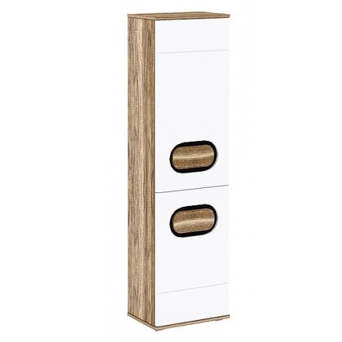 RODAN шкафчик 2d правый дуб craft золотой / белый глянец