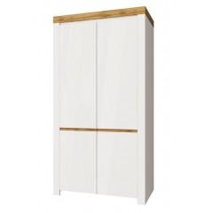 TAURUS шафа 2d білий глянець