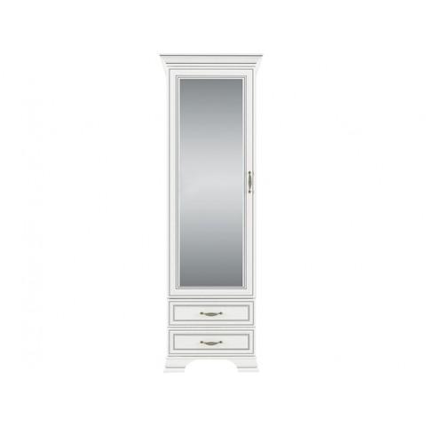 TIFFANY шафка з дзеркалом 1d2s woodline крем