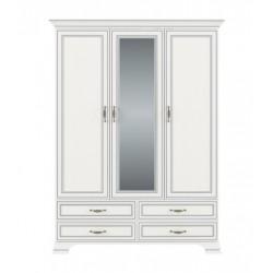 TIFFANY шкаф с зеркалом 3d4s woodline крем
