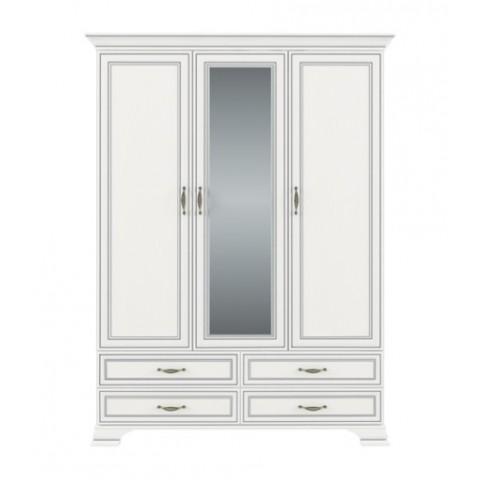 TIFFANY шафа з дзеркалом 3d4s woodline крем