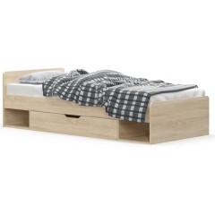 TIPS ліжко 1s/90 дуб sonoma