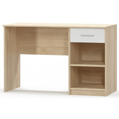 TIPS стол письменный 1s дуб sonoma / белый