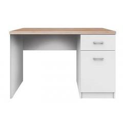 TOP MIX стіл письмовий 1d1s/120 білий