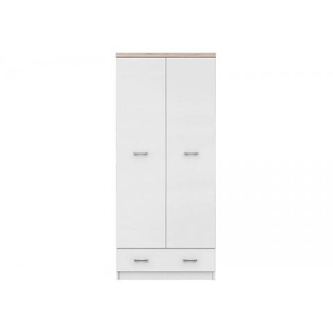 TOP MIX шкаф 2d1s белый