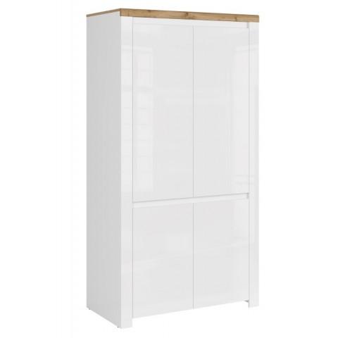 VIGO шкаф 4d [Q] белый глянец