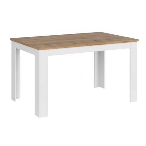 VIGO стол раскладной 135/184 [S] белый глянец