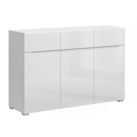 YOLK комод 3d3s белый глянец